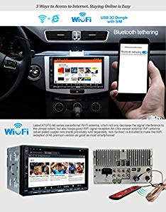 ATOTO A6 Double Din Android Car Navigation Stereo : Amazing radio